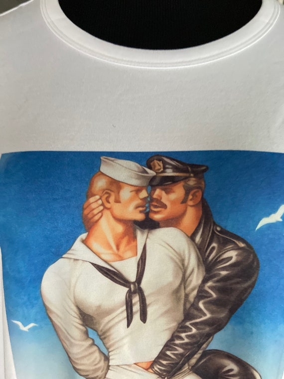 Tom of Finland Fitted Tee Sz M