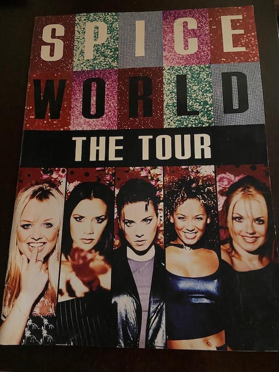 1998 Spice World The Tour Program Spice Girls