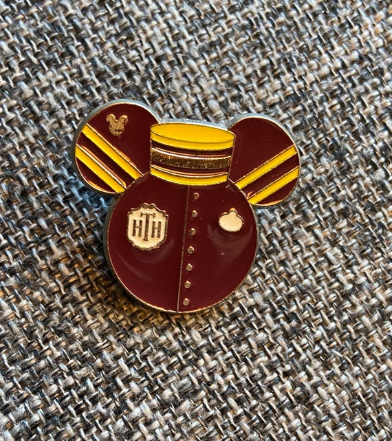 Disney Hollywood Tower Hotel Tower of Terror Mickey Bellhop Pin