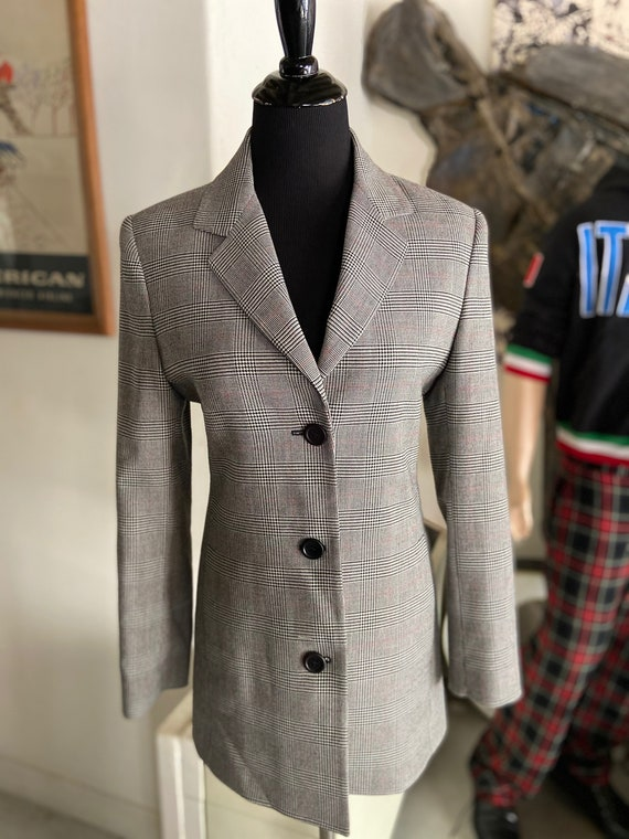Beautiful 1990s Philippe Adec Paris Fitted Blazer Size 4