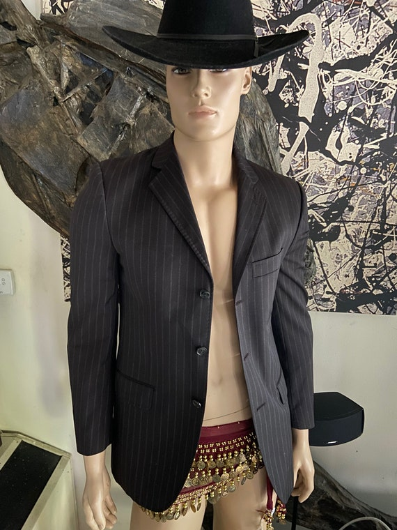 Men's Dolce & Gabbana Pinstriped Blazer IT Size 48 (US 38)