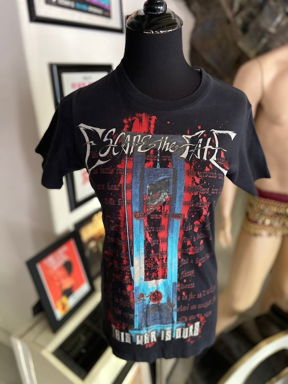 Escape the Fate This War Is Ours Tee TShirt 2008 Size XS