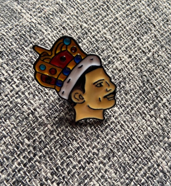 Freddie Mercury Queen Enamel Pin Badge Button