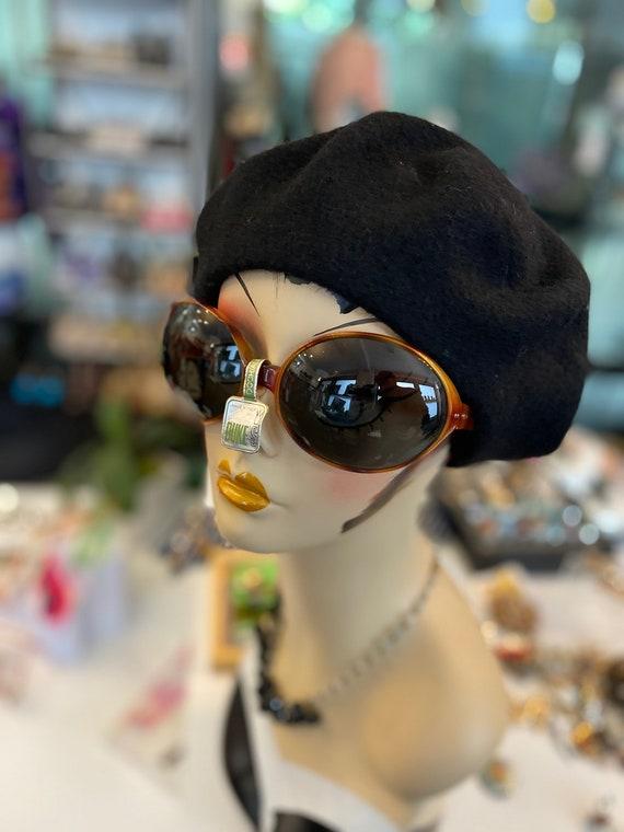 Vintage 1970s Deadstock Oversized Italian Sunglasses