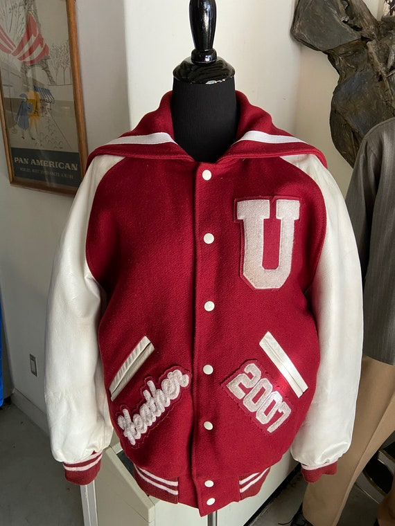 2007 Women's Coleman Letterman Jacket Heather