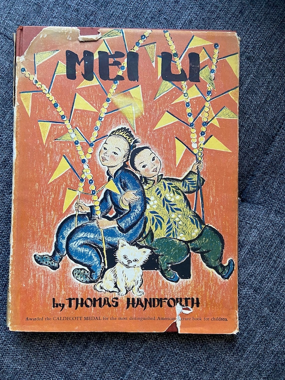 1939 Edition of Mei Li (Second Ever Caldecott Winner)
