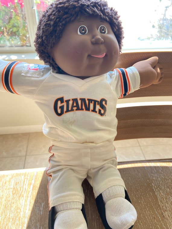 Vintage 1985 SF Giants San Francisco African American Cabbage Patch Doll