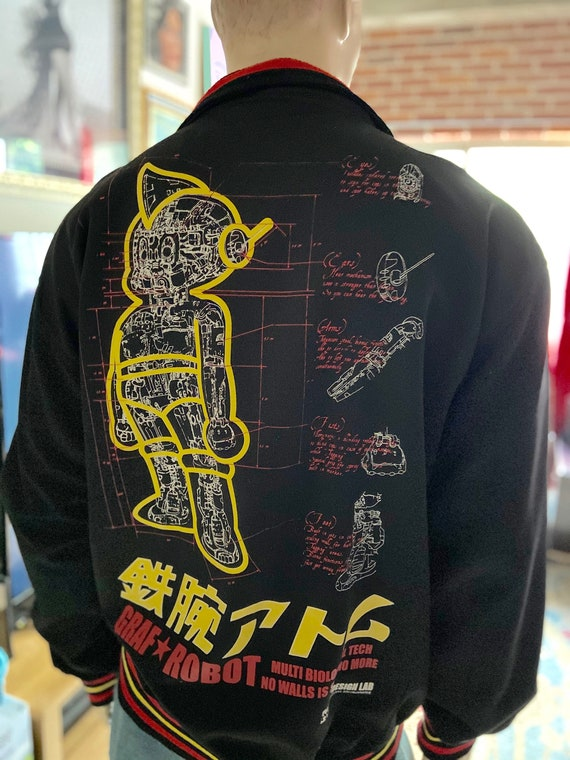 Graf KID ROBOT Track Jacket Astro Boy AK Design Lab Rare
