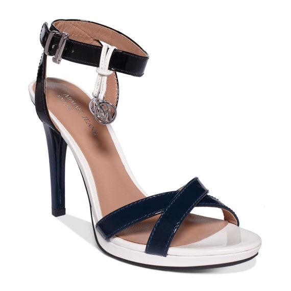 Beautiful Armani Jeans Strappy Heels Sandals size 36