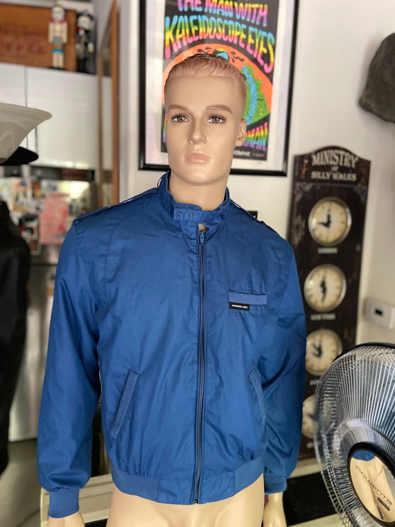 Classic Vintage 1980s Blue Men's Members Only Jacket