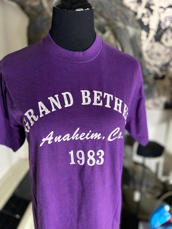 Totally Rad 1983 Grand Bether Anaheim, CA Vintage Tee T-Shirt