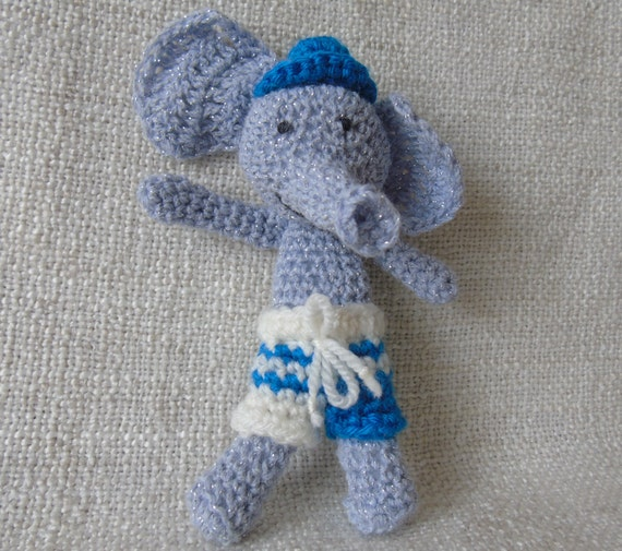 little grey elephant. $8 hooks n loops. | Dinosaur stuffed animal ... | 505x570
