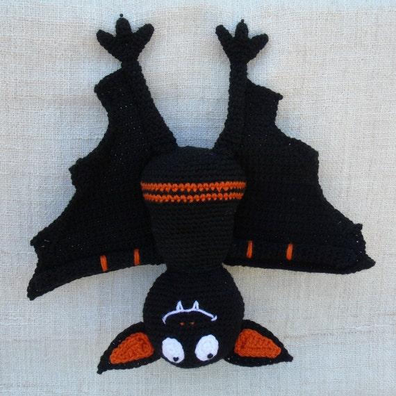 Tuto Ou Patron Grande Chauve Souris Au Crochet