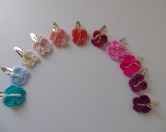 Clamp butterfly hair crochet, a colorful re-entry