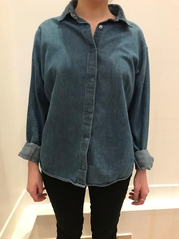 Levi's engineered shirt for women, denim shirt, Le