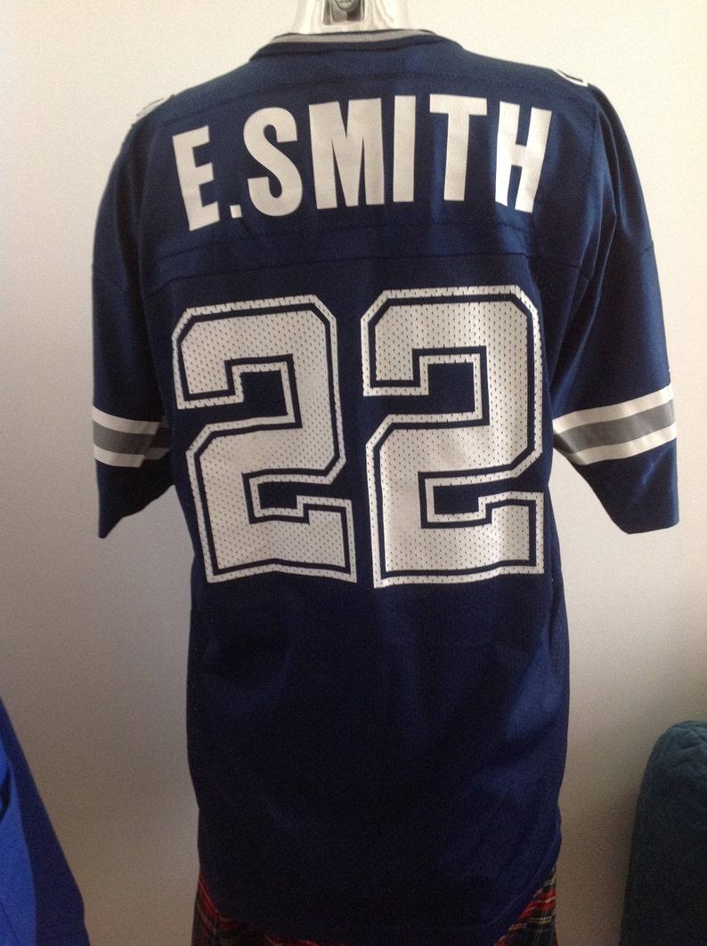 2b861a9c4 Amazing E.Smith Champion USA shirt Dallas Cowboys Texas   Etsy