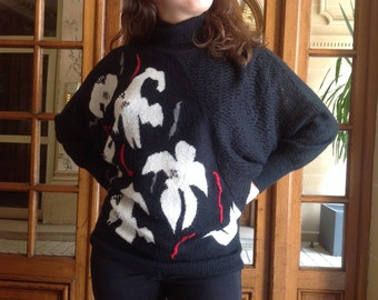 Extravagant 80s sweater