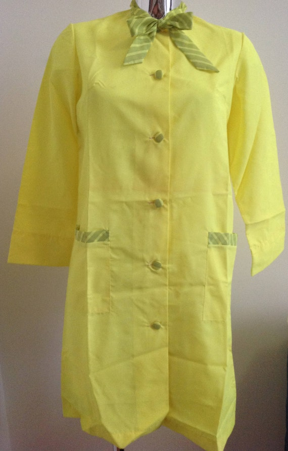 Neon 70s overall deadstock, French workwear, schoo