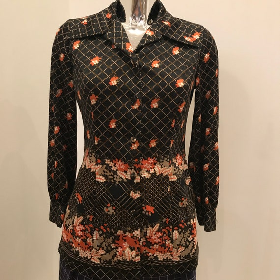 70s tunic, 70s dress, 70s top, 70s blouse, that 70