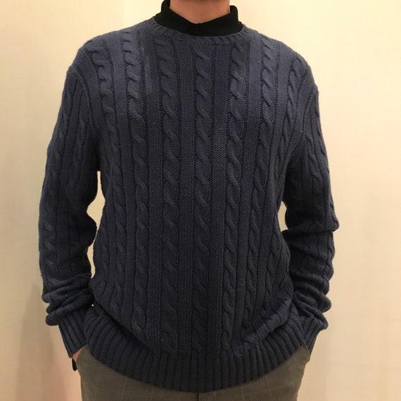 Polo Ralph Lauren cable sweater, vintage Ralph Lau