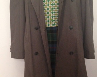 Large vintage trench coat Marks and Spencer's