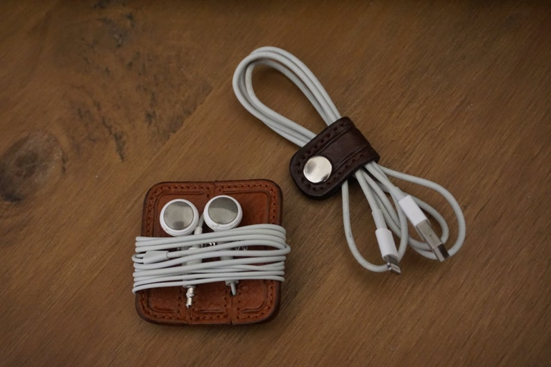 Headphone Tidy /& Small Cable Tie Set