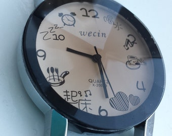 Faux leather Kawaii inspired wrist watch