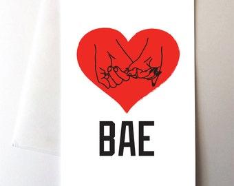 Bae Love Card