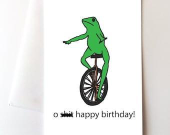 Dat Boi Birthday Card