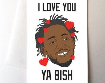 Ya Bish Love Card