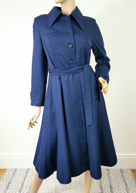 1970s Vintage Coat, Trench Coat, Nino Western Germ