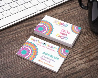 Caught wearing in the wild Card -MultiColor Boho Mandala | Home Office Approved Fonts/Colors -Been spotted - Look beautiful rocking