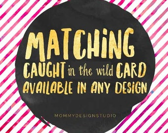 Caught wearing in the wild - you've been caught - Add on Bundle -Match Business Cards - Discount Amt Customizable- Leggings Fashion Retailer