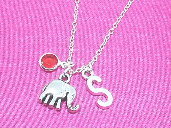 Yoga Necklace Personalized Name Initial Birthstone Sterling Silver Women Girl Kid Child Gift Custom Monogram Letter Charm Jewelry Pendant