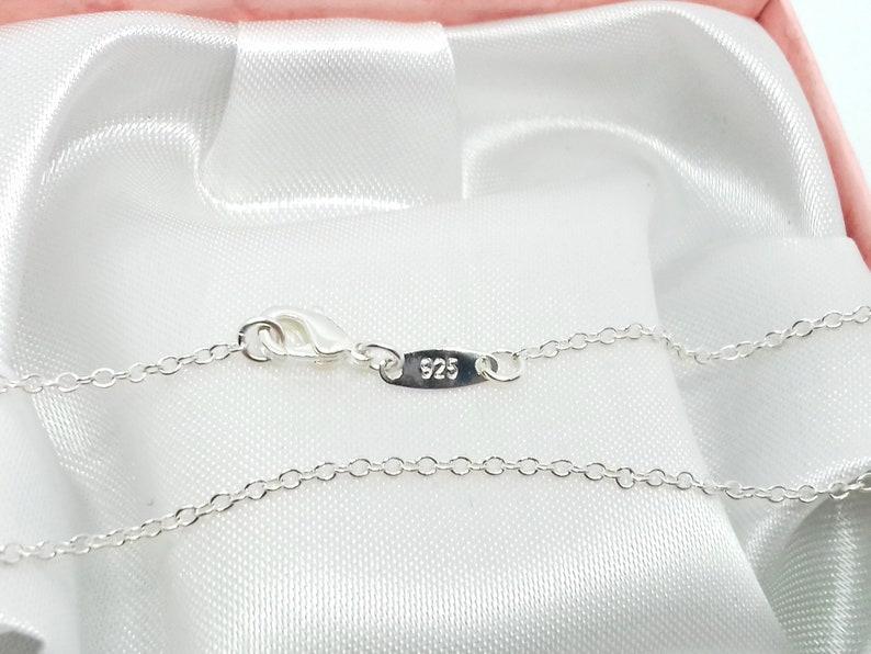 November Birthstone Necklace UK Sterling Silver birthstone jewellery birthstone jewelry November Necklace birthstone gifts women girls