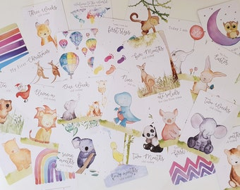 Oh Baby / Baby Milestone Cards