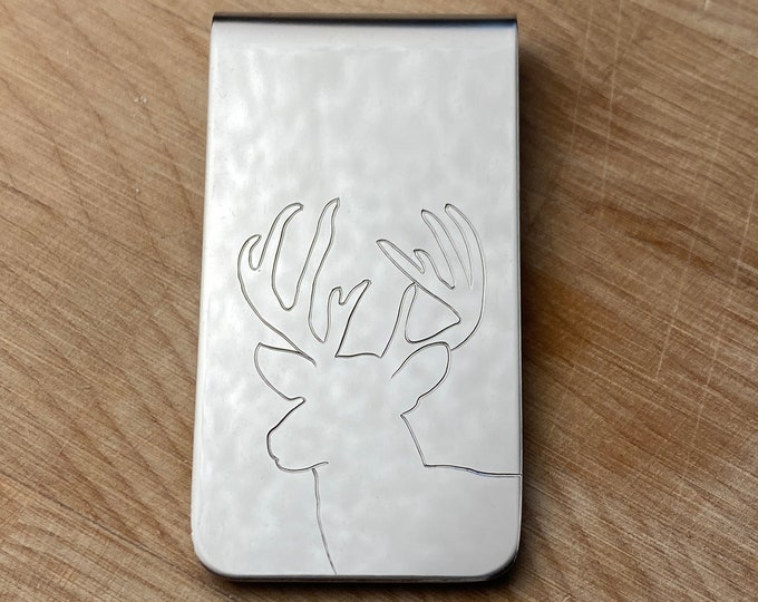 Buck Money Clip