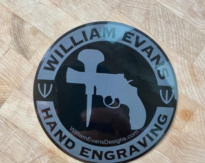 William Evans Sticker