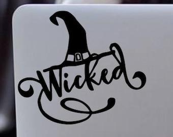 WICKED WINIFRED/'S Shoe Repair Vinyl Decal  \u2022  Halloween Decor  \u2022  Halloween Witch  \u2022  Wicked Decal Sticker  \u2022  Decal for Halloween Sign