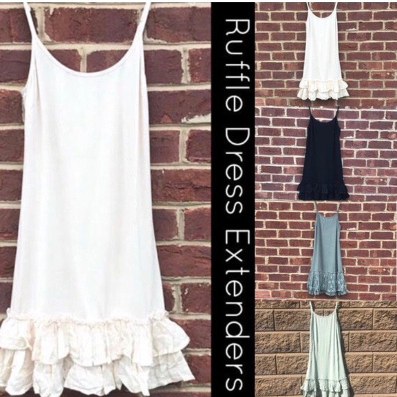 40a621d9bfd3 Dress Extender Lace Dress Extender Slip Layered Slip Green | Etsy