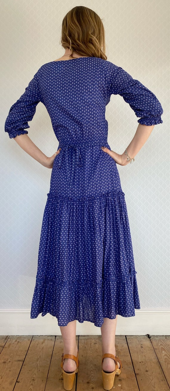 Vintage Dress | 1970's Laura Ashley Made in Carno… - image 6