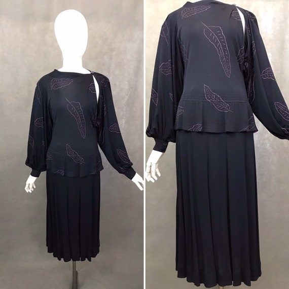 Vintage Dress | 1970's Dress by Jean Muir | Rare R