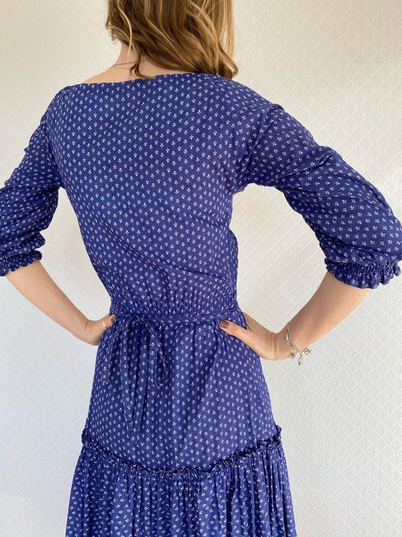 Vintage Dress | 1970's Laura Ashley Made in Carno… - image 8
