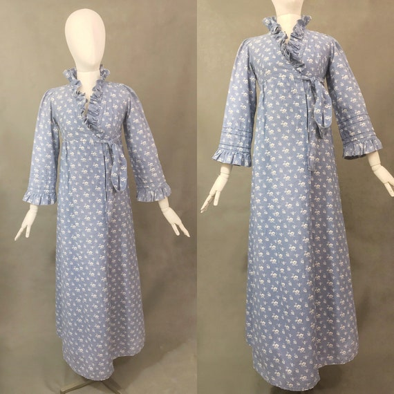 Vintage Dress | Rare 1970's Laura Ashley Made in W