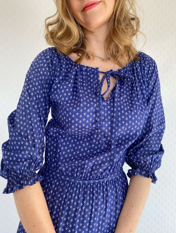 Vintage Dress | 1970's Laura Ashley Made in Carno… - image 3