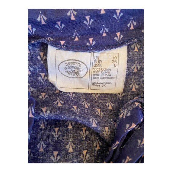 Vintage Dress | 1970's Laura Ashley Made in Carno… - image 9