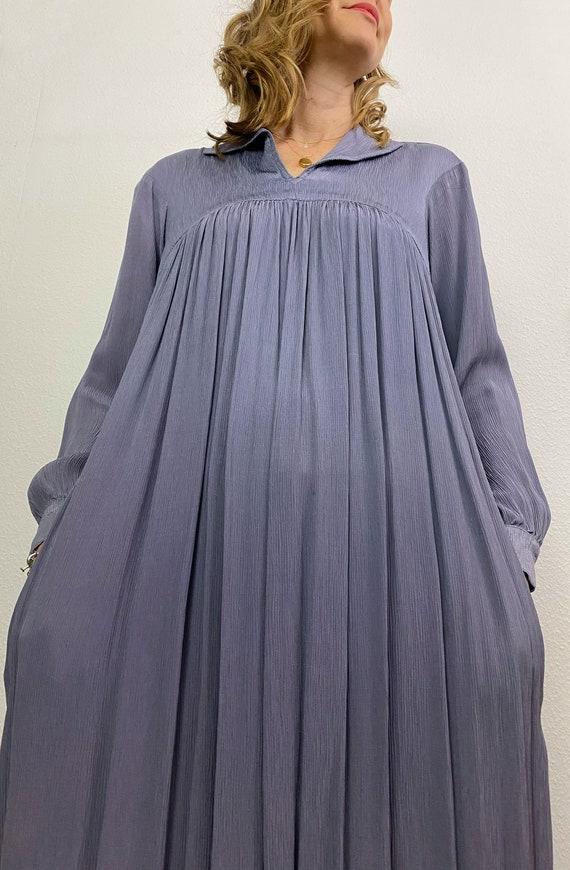 Vintage Dress | Ossie Clark for Radley Moss Crepe