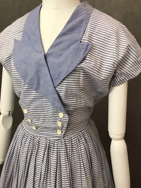 Vintage Dress   1950s Horrockses Summer Dress   R… - image 7