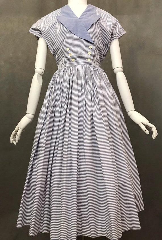Vintage Dress   1950s Horrockses Summer Dress   R… - image 2