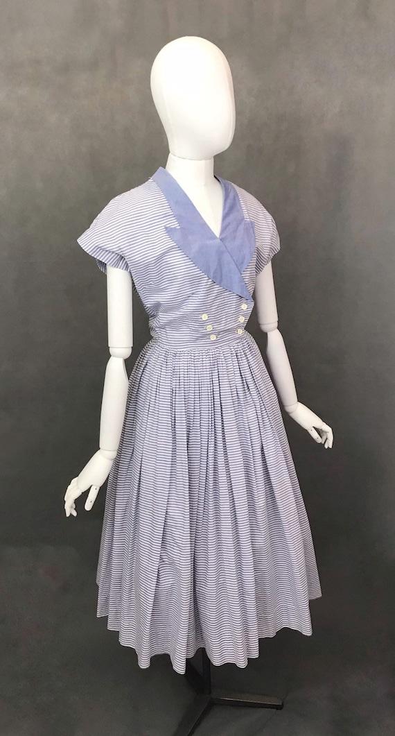Vintage Dress   1950s Horrockses Summer Dress   R… - image 3